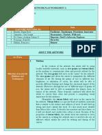 [ARTSCOM] Worksheet 2