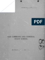 CGSC Paper 1930