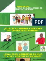 TALLER A PADRES EL ROL DE LA FAMILIA EN EL DESARROLLO DE LOS NIÑOS Y NIÑAS (1)