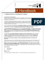 CIMA Handbook