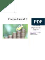 Práctica Unidad 3 Análisis de Depreciación e Impuesto