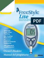 Freestyle Lite Instruction Manual