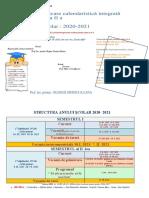 planificare calendaristica  clasa a  II a 2020-2021