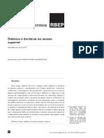 Texto 10-08 - DIDÁTICA E DOCÊNCIA NO ENSINO SUPERIOR