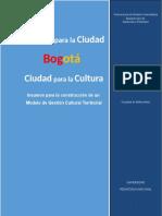 Modelo de Gestión Cultural Territorial