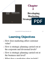 2. Developing Marketing Strategies and Plans
