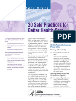 3. 30 Safe Practices for Bettr HC