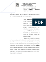 APERSONAMIENTO BACA OTERO TRANSITO