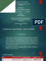 act. 8 Cognición corporizada y vida cotidiana