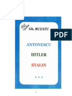 Antonescu, Hitler, Stalin