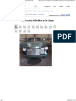 Chevrolet 3100 Boca De Sapo