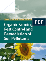 Organic Farming, Pest Control and Remediation of Soil Pollutants Organic farming, pest control and remediation of soil pollutants