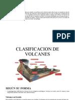 CLASIFICACION DE VOLCANES