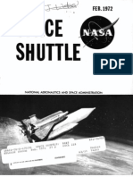 Space Shuttle Fact Sheet 1972