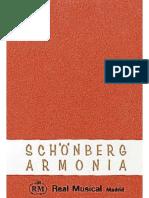 Tratado de Armonía - SCHOENBERG, Arnold