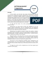 Personal-Entrepreneurial-Competencies Module