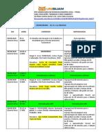 PLANEJAMENTO DISCIPLINA EDUCAÇÃO, TRABALHO E MEIO AMBIENTE - 2020.2