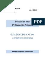 Sgea Eval 6ep 2019 Guia 4 Guia Matematicas