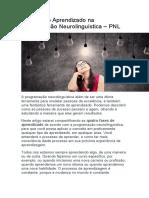 4 Fases do Aprendizado na Programação Neurolinguística