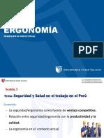 Sesión 03, Seguridad y Salud en el Trabajo en el Perú