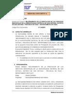 2)  Memoria Descriptiva Serv. Municipal