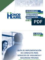 GUÍA DE IMPLEMENTACIÓN DE CONDUCTA PARTE 3