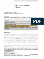 Pharmacologic Strategies for Treatment of Poisonings