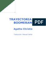 Christie, Agatha - Trayectoria de boomerang