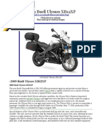 Buell Ulysses Specs/reviews.