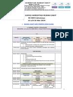 Jadwal Survei Akreditasi SNARS Edisi 1 RS MM Indramayu(1).pdf