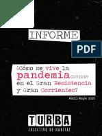 INFORME_¿Cómo se vive la pandemia de coronavirus en el Gran Resistencia y Gran Corrientes_ - TURBA