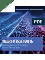 MECANICA DE ROCAS (parte III)
