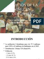 situacion niñez en Colombia