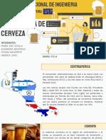 Cerveza en Nicaragua y Centroamerica