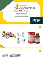 Clase control de calidad cosmeticos 2020