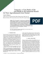 Pesticide Science Volume 52 issue 1 1998 [doi 10.1002_(sici)1096-9063(199801)52 1 75 aid-ps663 3.0.co;2-p] Pillmoor, John B. -- Carbocyclic coformycin- a case study of the oppor