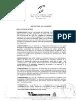 Resolucion SIE-56-0 Indicadores