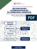 Obligaciones internacionales en derechos humanos