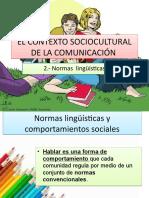 Clase 5 - Las normas linguísticas (2) CORIA