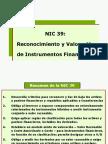 NIC 39 Ejemplos