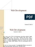 Web Development intro