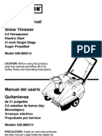 Craftsman Snowblower Manual