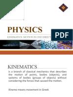 PHYSICS-2-kinematics