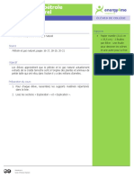 Formation of Oil FR