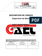 Cargo Supervisor de obra