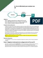Práctica de laboratorio Uso de Wireshark para examinar una captura UDP de DNS