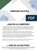 LIBERTAD POLÍTICA