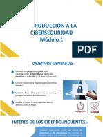 1. SEDTOLIMA - MODULO No. 1 Introducción a la Ciberseguridad