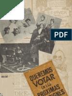 Historia Del Movimiento Feminista en Chile