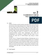 Sosek 2 - Gambaran Umum Wilayah Studi